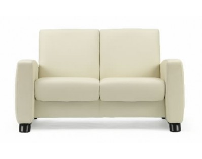 Ekornes Stressless Arion Loveseat - Low Back - Custom Order