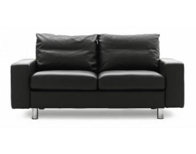 Ekornes Stressless E-200 Two Seat Loveseat - Royalin Leather Custom Order