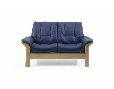 Ekornes Stressless Windsor Loveseat - Low Back - Custom Order
