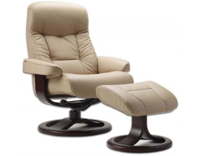 Fjords 215 Muldal Recliner with Ottoman