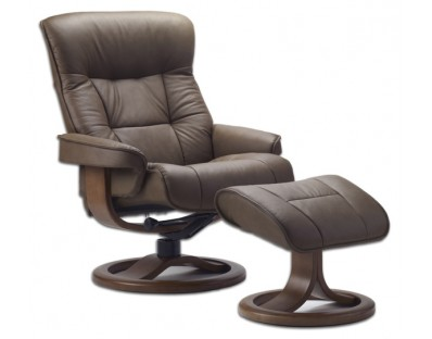 Fjords 775 Bergen Recliner with Ottoman