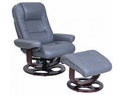 Barcalounger Jacque Recliner and Ottoman