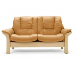 Ekornes Stressless Buckingham Loveseat - Low Back - Custom Order