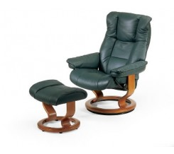 Ekornes Stressless Chelsea Recliner with Ottoman