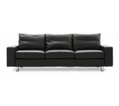 Ekornes Stressless E-200 Three Seat Sofa - Dinamica Microfiber Custom Order