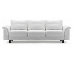 Ekornes Stressless E-300 Three Seat Sofa - Dinamica Microfiber Custom Order