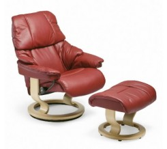Ekornes Stressless Reno Recliner with Ottoman