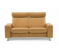 Ekornes Stressless Space Loveseat - Large, High Back - Custom Order