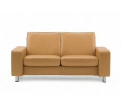 Ekornes Stressless Space Loveseat - Large, Low Back - Custom Order