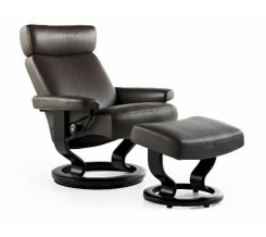Ekornes Stressless Taurus Recliner with Ottoman