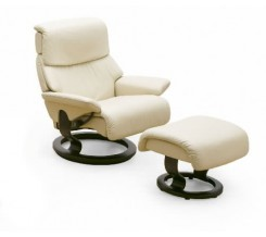Ekornes Stressless Vision Recliner with Ottoman