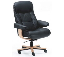 Fjords 215 Muldal Soho Leather Office Chair