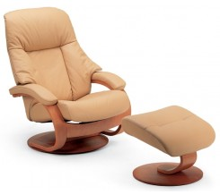 Fjords 510 Giske Recliner with Ottoman