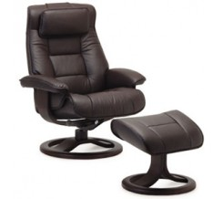 Fjords Mustang Recliner with Ottoman