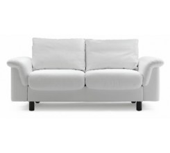 Ekornes Stressless E-300 Two Seat Loveseat - Paloma Leather Custom Order